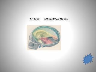 TEMA :   MENINGIOMAS