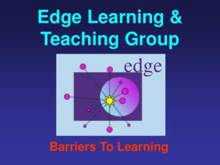 Edge Learning & Teaching Group