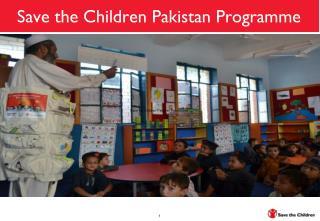 Save the Children Pakistan Programme