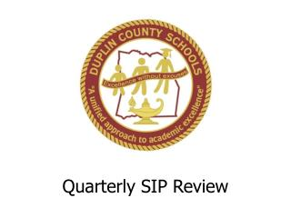Quarterly SIP Review
