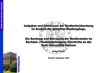 Bachelor (1.-6. Semester) 1. Fach 2. Fach Optional- bereich