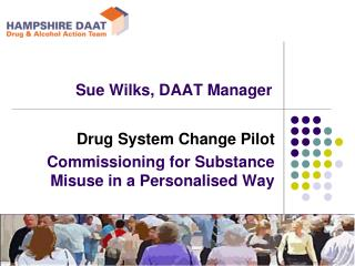 Sue Wilks, DAAT Manager