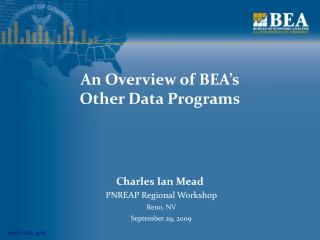 An Overview of BEA's Other Data Programs