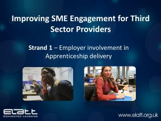 Improving SME Engagement for Third Sector Providers