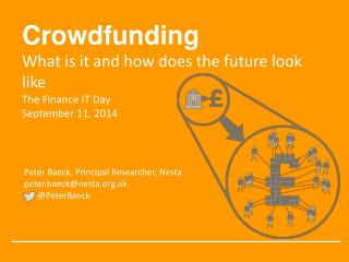 Crowdfunding  What  is it and how does the future look  like The  Finance IT  Day