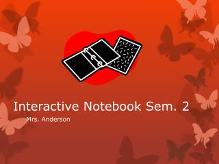 Interactive Notebook Sem. 2