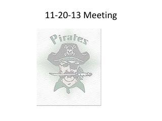 11-20-13 Meeting