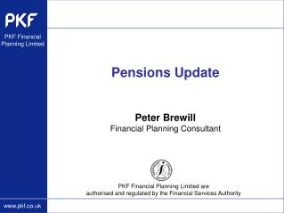 Pensions Update