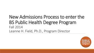 Why was a new admissions policy needed?