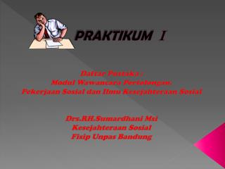 PRAKTIKUM I