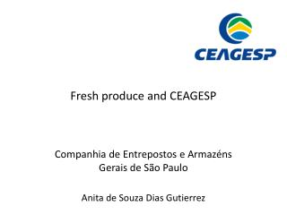 Fresh produce and CEAGESP