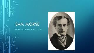 Sam Morse