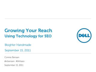 Growing Your Reach Using Technology for SEO