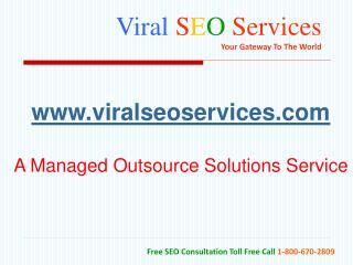 Viral  S E O Services Your Gateway To The World