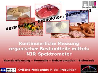 ONLINE-Messungen in der Produktion