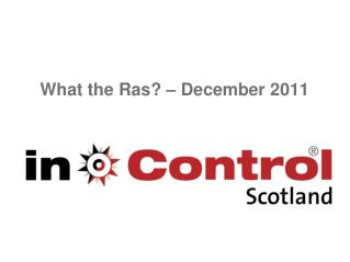 What the Ras? � December 2011