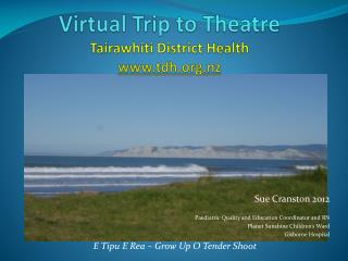 Virtual Trip to Theatre Tairawhiti District Health tdh.nz