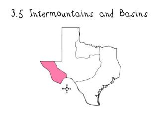 3.5  Intermountains  and Basins