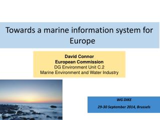 Towards a marine information system for Europe