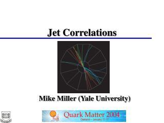 Jet Correlations