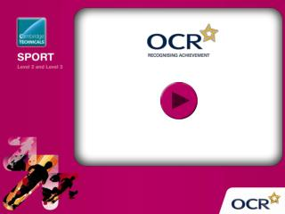 OCR Cambridge Technicals in Sport (Level 2)