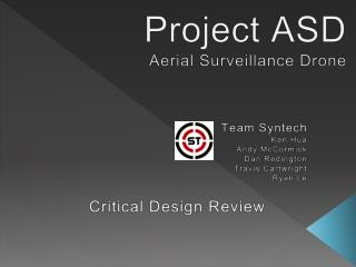 Project ASD Aerial Surveillance Drone