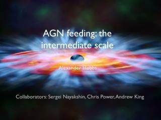 AGN feeding: the intermediate scale
