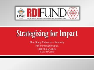 Strategizing for Impact