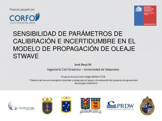 José  Beyá  M. Ingeniería Civil Oceánica – Universidad de Valparaíso