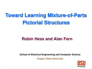 Toward Learning Mixture-of-Parts Pictorial Structures