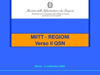 Roma, 13 settembre 2005