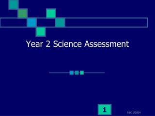 Year 2 Science Assessment