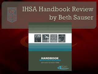 IHSA Handbook Review by Beth Sauser