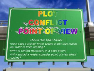 ESSENTIAL QUESTIONS How does a skilled writer create a plot that makes you want to keep reading?