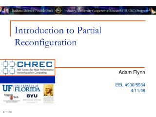 Introduction to Partial Reconfiguration