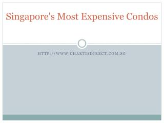 singapores most expensive condos