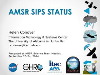 AmsR  SIPS Status