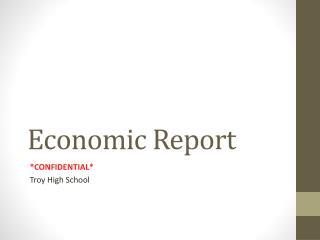 E conomic Report