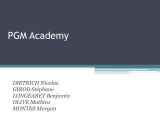 PGM Academy