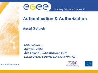 Authentication & Authorization Assaf Gottlieb