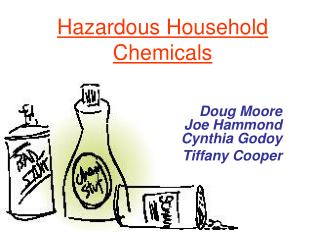 Hazardous Household Chemicals