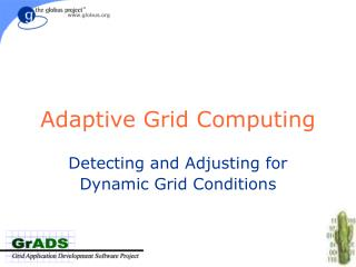 Adaptive Grid Computing