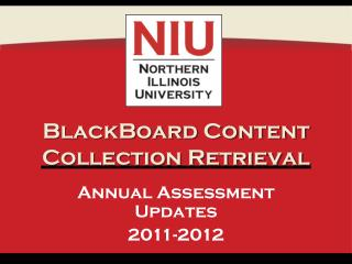 BlackBoard Content Collection Retrieval