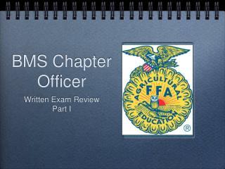 BMS Chapter Officer