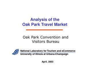 Analysis of the  Oak Park Travel Market