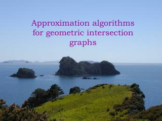 Approximation algorithms for geometric intersection graphs