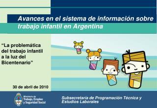 Avances en el sistema de información sobre trabajo infantil en Argentina