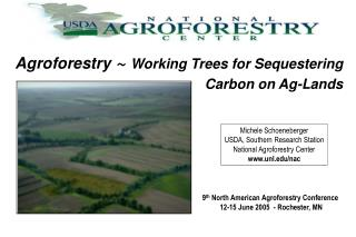Agroforestry  ~  Working Trees for Sequestering