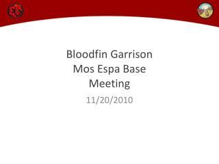 Bloodfin  Garrison Mos Espa  Base  Meeting