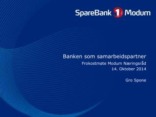 Banken som samarbeidspartner